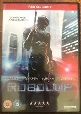 Robocop DVD 2014 Sci-Fi Action Film Movie mit Gary Oldman Vermietung Version