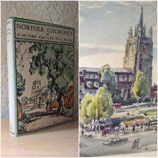 Norfolk Churches, H. Munro Cautley, Norman Adlard, Ipswich, 1949 [First Edition]