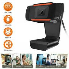 USB 2.0 HD Web Cam Camera Webcam with Microphone for Computer Laptop Desktop LOT