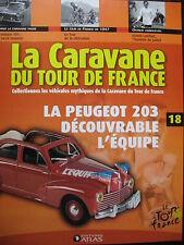 FASCICULE 18 TOUR DE FRANCE 1947 / PEUGEOT 203  L'EQUIPE  FIRMIN LAMBOT