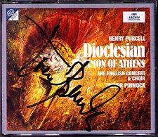 PINNOCK Signed PURCELL DIOCLESIAN Timon of Athens 2CD Ann Monoyios Nancy Argenta