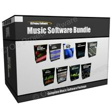 Music Audio Editing Multimedia Studio Production Software Program Collection