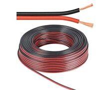10 m Lautsprecher-Kabel 2,5 mm² rot-schwarz| Boxenkabel | %100 CCA Kupfer