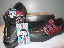 Nos DRAVEN SEX PiSTOL UK PRETTY VACANT Sneakers Shoes Vegan Retro Punk Plaid 4