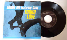 Double Dee feat Dany Found love -1990 french EP 45T vinyl - MINT