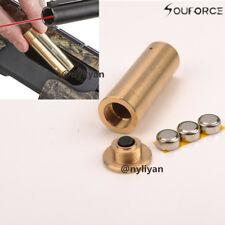 Brass 12GA Shotgun Bore Sighter Cartridge Red Laser 12 Gauge Boresighter Rifle