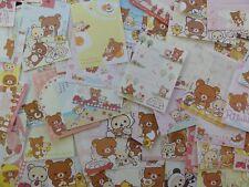 100 Rilakkuma Bear Mini Memo paper Kawaii Cute japan San-X gift stationery note