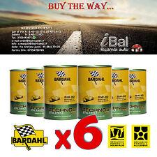OLIO MOTORE BARDAHL TECHNOS C60 EXCEED 5W-30 6L  TAGLIANDO - 322040