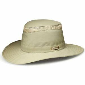 Tilley LTM6 Broad Brim Airflo Hat Khaki Olive  7  7/8 Ladies Mens Hats