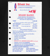 Silvair Aviation 3 pg Advertising Flyer Radio Frequency Monitoring coverage maps