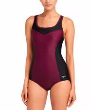Speedo Ladies' Swim Suit One Piece Medium (8-10) Potent Purple New with tags