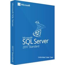 Microsoft SQL Server 2017 Standard 2 Core Retail License Key INSTANT DELIVERY