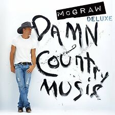 TIM McGRAW - DAMN COUNTRY MUSIC (Deluxe Edition)   (CD) Sealed