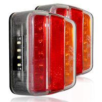 2x LED 12V Rückleuchte PKW-Anhänger Rücklicht Wohnwagen Blinklicht Leuchte E4