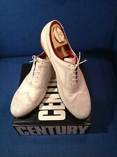 SUTOR MANTELLASSI - White Leather Casual Shoes - Size 11.5 / 12 NWOT  $595