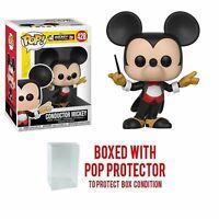 Funko Pop Disney Mickey's 90th Conductor Mickey #428 Collectible Figure
