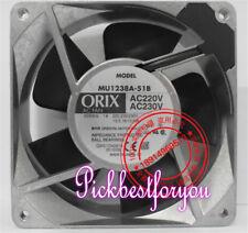 ORIX MU1238A-51B Aluminum frame cooling fan AC220/230V 14/16W 12038 #MY64 QL