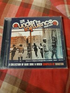 Under The Influence Volume 7 Compiled By Winston CD New and not sealed 2019