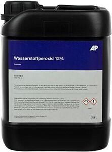 Wasserstoffperoxid 12%, stabilisiert, technisch reine Qualität ( 2,5 L )