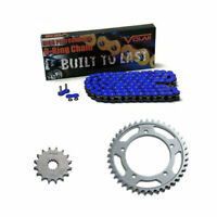 Volar O-Ring Chain and Sprocket Kit - Blue for 1994-2007 Yamaha YZF600R