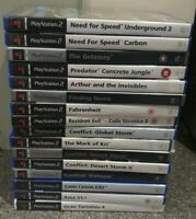 Playstation 2 games bundle X 16 -  All Tested