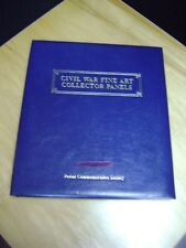 CIVIL WAR FINE ART COLLECTOR PANELS, 1995-96 USPS Commemorative Stamp Panel