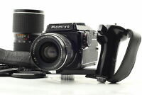 【Near MINT】 Mamiya M645 Body Waist Level Finder 45mm 75-150mm 2 Lens Strap JAPAN