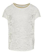 Garcia  Shirt T-Shirt kurzarm Rundhals grau Mädchen Kinder Gr.140//146,152//158