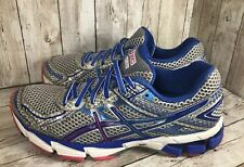 ASICS GT-1000 Silver Blue Pink Running Shoes T3R5N  WOMENS 8