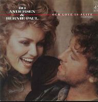 """BO ANDERSEN & BERNIE PAUL ~ OUR LOVE IS ALIVE - 12"""" Maxi Schallplatte Vinyl LP"""