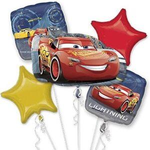 Disney Cars 3 Mc Reina Fiesta de Cumpleaños Detalle 5 Aluminio Globos Ramo