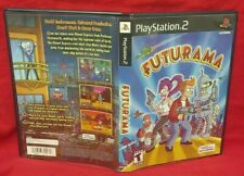 Futurama - PS2 Playstation 2 Case & Cover Art *NO GAME or Manual* Very Rare Nice