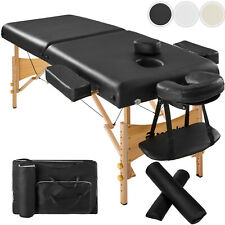 Massagetisch Massagebank Massageliege Kosmetikliege Therapieliege + Set