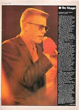 MADNESS Xmas party concert review Lyceum 1984 UK ARTICLE / clipping