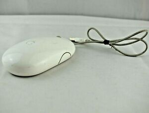 Genuine APPLE Wired Laser USB Mighty Mouse A1152 for iMac MacBook Pro Mac Mini