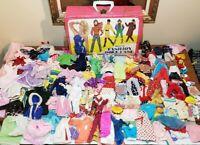 HUGE 158+ Piece Lot of Vintage Barbie Size Clothing Skipper, Barbie, Untagged