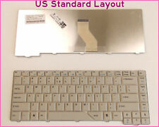 Laptop US Layout Keyboard for Acer Aspire 5710 5710G 5710Z 4910 Gray