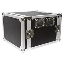 Seismic Audio 8U SPACE RACK CASE Road Ready~Amp~Amplifier~EQ~Effects