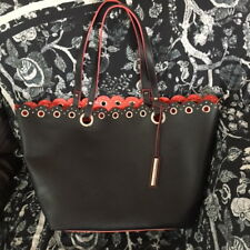 NINE WEST TOTE BAG in Black, New without tags