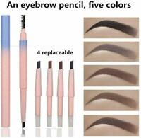 Crayon à Sourcils, Avec Brosse à Sourcil , Crayon de Maquillage, Crayon Sourcils