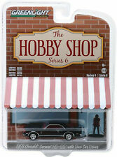 Greenlight 1/64 Hobby Shop S6 1968 Chevrolet Camaro RS/SS w/ Driver Fig 97060C
