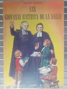 Fumetti Battista De La Salle vite dei santi Crociata Eucaristica Religione 🤩🤩