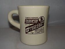 Thrive Farmers TF Direct Coffee 10oz. Coffee Latte Mug Tea Cup Heavy Ceramic