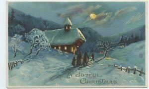 A Joyful Christmas Hold-To-Light Postcard