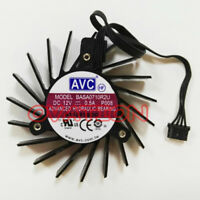 For 65mm 4 Pin Fan AVC BASA0710R2U for Nvidia Quadro 4000 Video Card