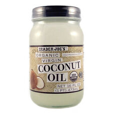 Trader Joe's Coconut Oil Extra Virgin Organic Unrefined (16 fl oz)