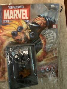 Eaglemoss Classic Marvel Figurine  #149 Cannonball W/Mag. Sealed.