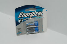 Energizer batteries Lithium 123 CR123A 3V  - 2 pack .Exp 03/2019