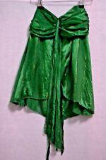 Strapless Green Silk Top by Kookai Size 8 (T1074)