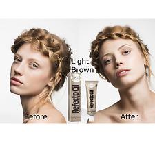 RefectoCil Light Brown Eyelash and Eyebrow Tint 15ml Tinting Pr018 08